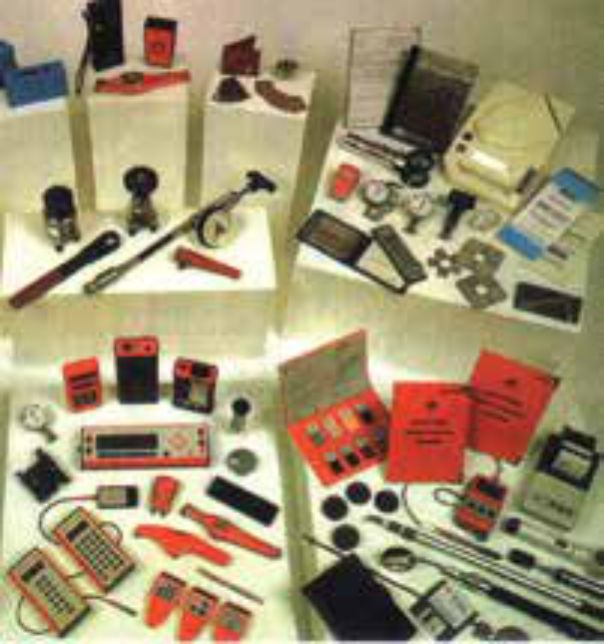 Các dụng cụ thiết bị đo sơn